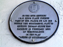 Photo of White plaque number 12276