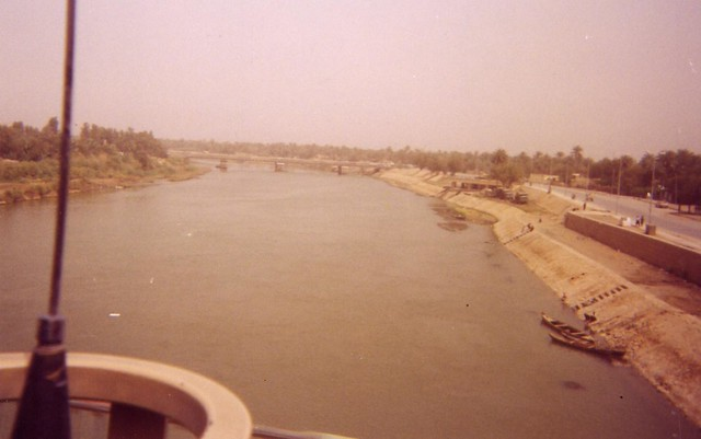 Euphrates River in An Diwaniya