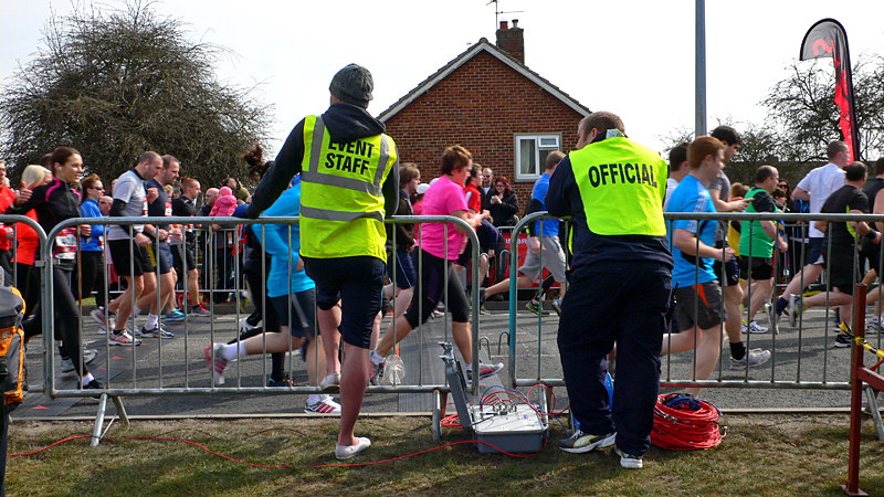 Lincoln 10k Race - Volunteers