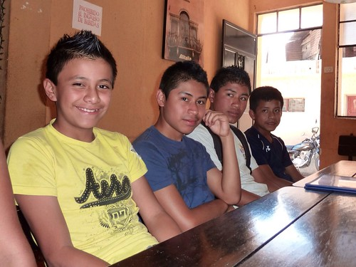 Noe, Miguel, Emerson, and Juan