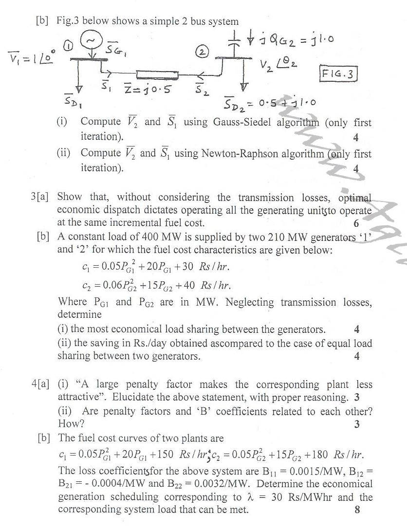 DTU Question Papers 2010 – 6 Semester - End Sem - EE-312