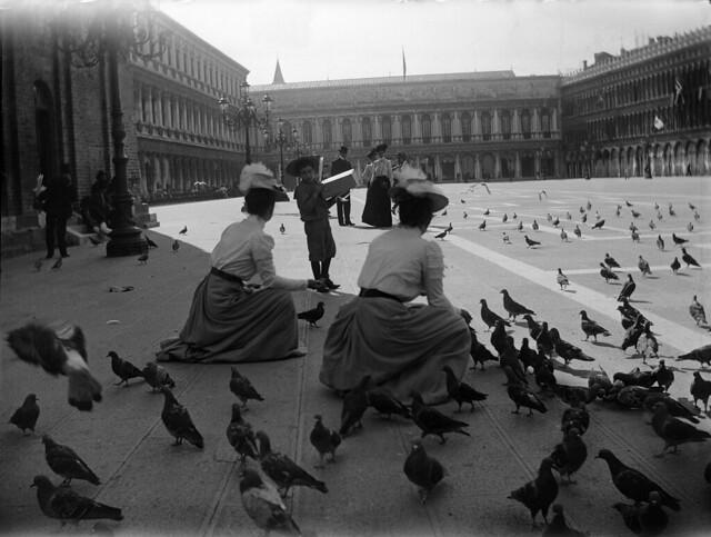 ITALIA ARCHEOLOGIA e BENI CULTURALI: 'Bella Venezia, Piazza San Marco [ca. 1900-04], di Baldomer Gili Roig (1873-1926),' © 2010 Museu d'Art Jaume Morera [2013].
