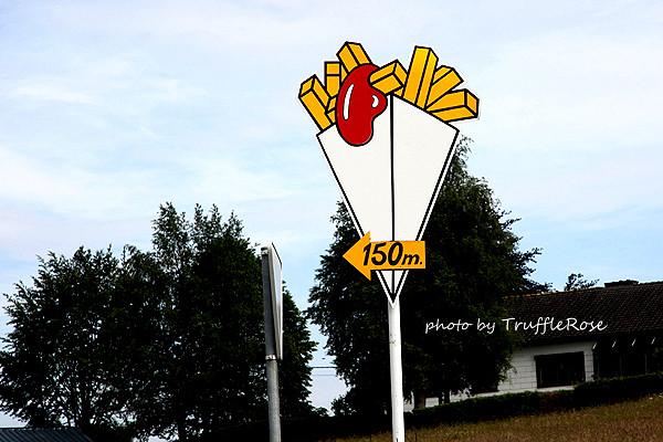 在亞耳丁高地吃炸薯 -20120609~