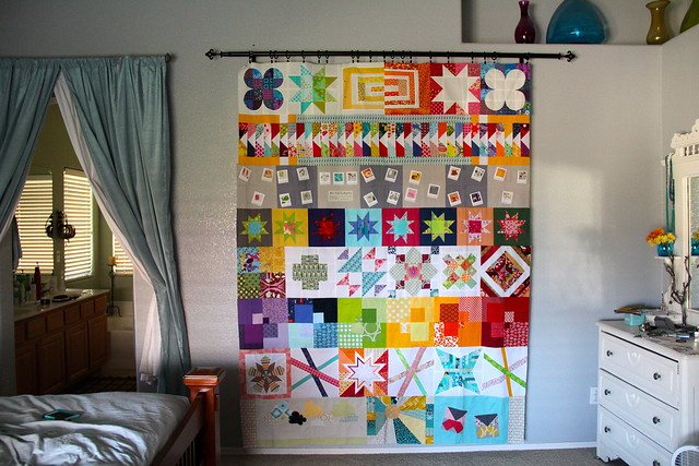 Stitch Tease Final Quilt for Me!!!
