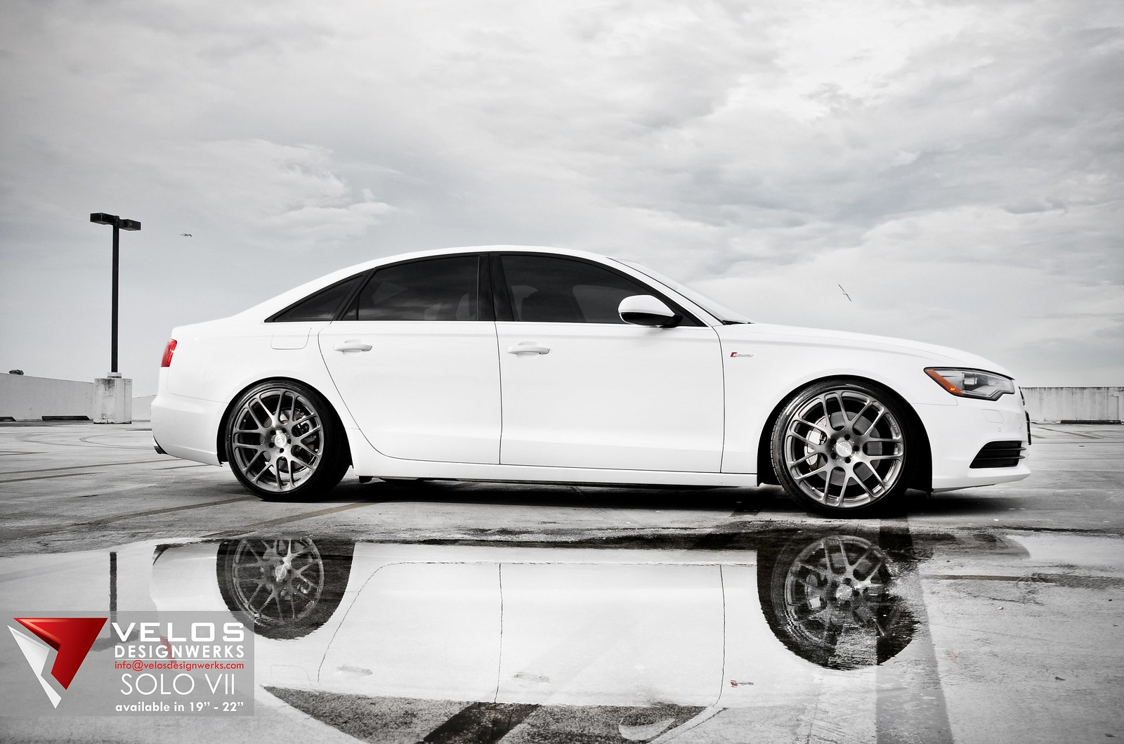 Velos Designwerks Solo Forged Wheels | Summer Sale | Audi A6 on honda accord tinted, audi s5 tinted, audi a3 tinted, nissan altima tinted, jeep grand cherokee tinted, audi a4 avant tinted,