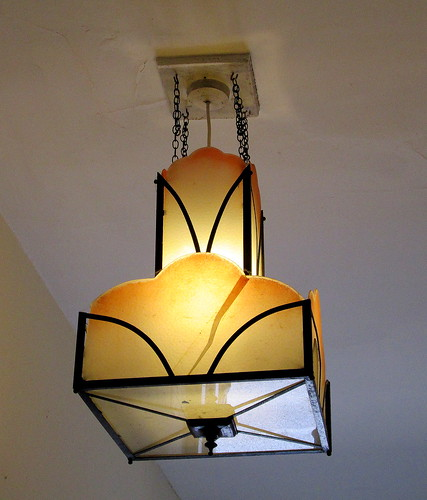 Art Deco Lampshade
