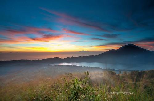 Mount Batur sunrise by Nathalie Stravers