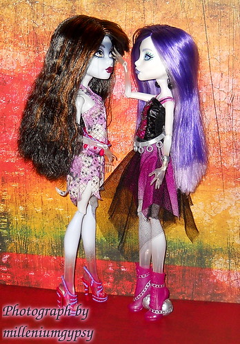 Ghostly girls