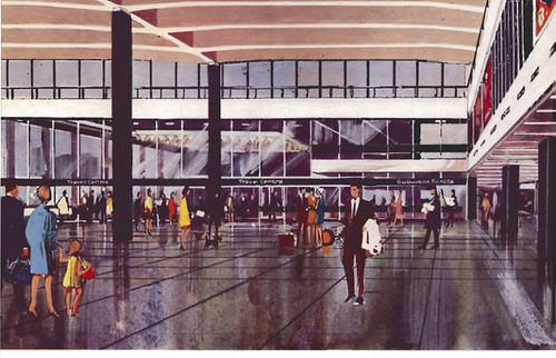 Euston Station - early artists impression