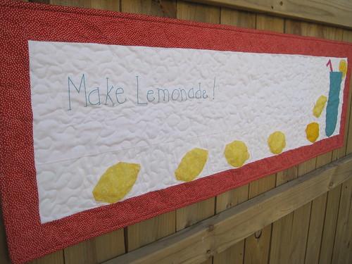 Make Lemonade Quilt