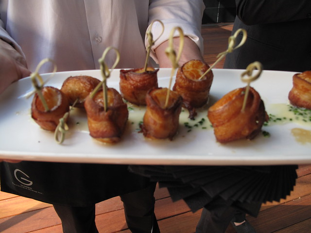 The Roof Bacon Wrapped Scallop
