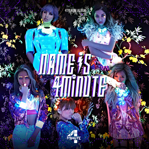 4minute   Name is 4minute (2013) (MP3 + iTunes Plus AAC M4A) [4th Mini Album]