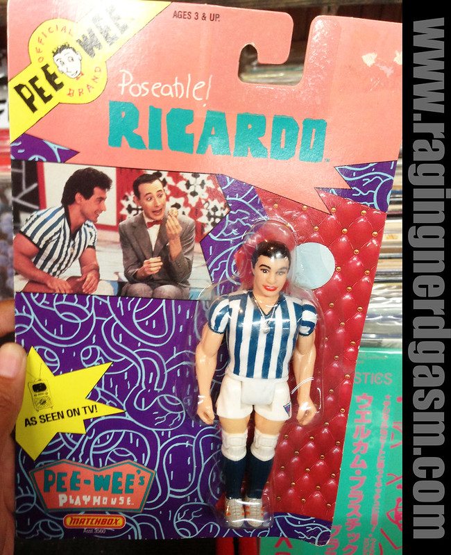 Pee Wee's Playhouse Poseable Ricardoby Matchbox