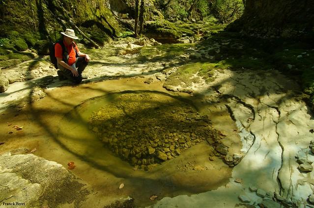 Marmite le long des Gorges de l'Audeux -Silley Bléfond