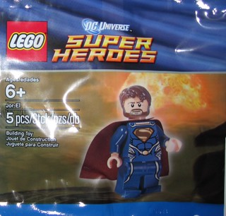 Jor-El Polybag pops up on eBay