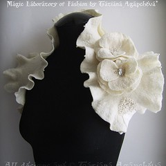 #wedding #bolero #shrug #bride #fashion #blogger #ivory #felt #feltbolero #tianache #etsy #bestseller