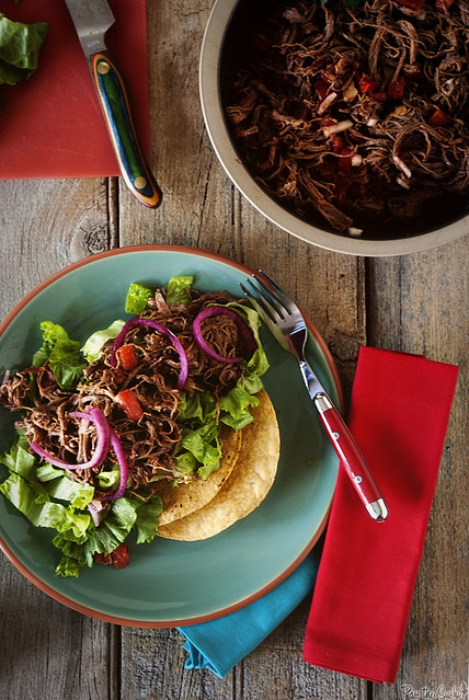 Salpicon Beef Salad via PasstheSushi.com