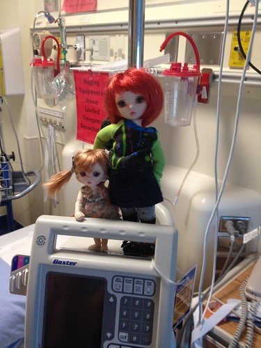 doll a day-2, hospital, intrigued