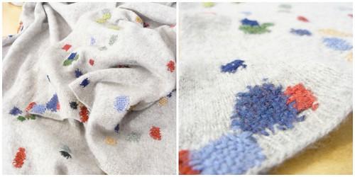 cashmere scarf repair