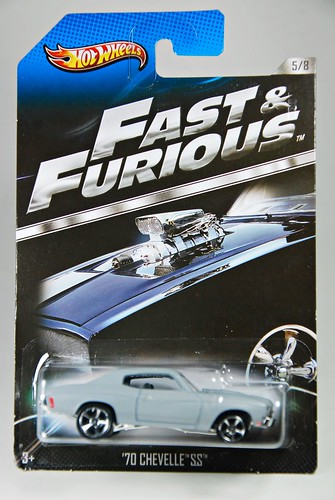 Hot Wheels: Fast & Furious 5/8