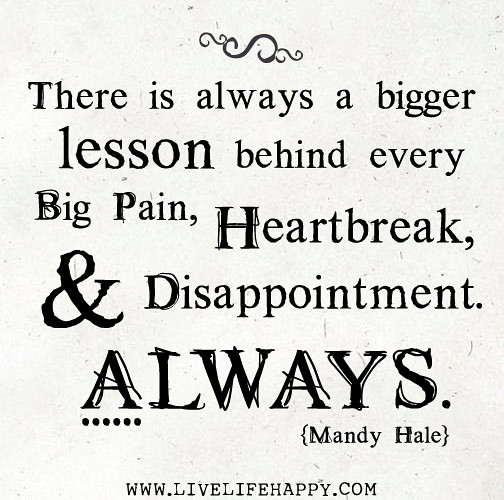 heartbreak and disappointment quotes