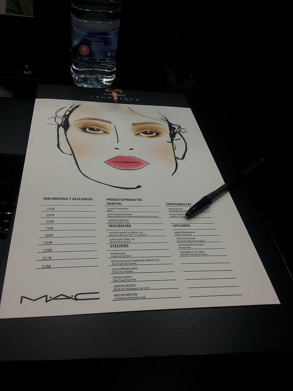 mac technique, curso de maquillaje