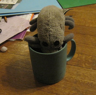 Dust Mite needs tea badly