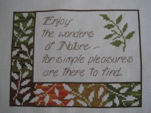 Nature Cross Stitch