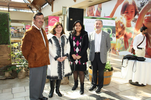 Celebración CGNA Temuco con las que se da inicio a las celebraciones en Chile.