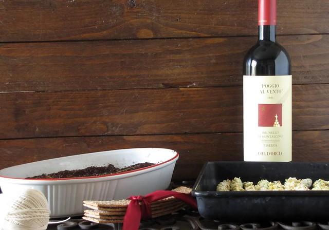 Filetto ubriaco in Crosta di Caffè e Pecorino al Tartufo con Asparagi al Forno