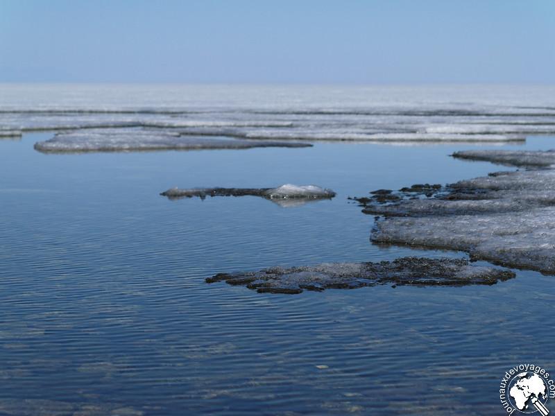 La fonte du lac Baîkal
