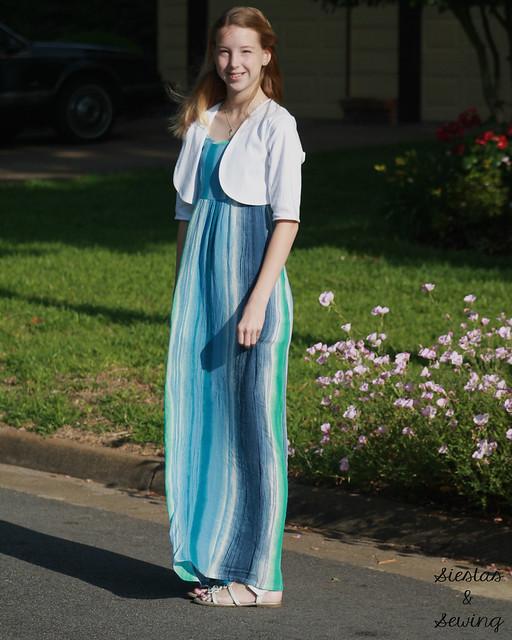 Summer Maxi Dress and Shrug