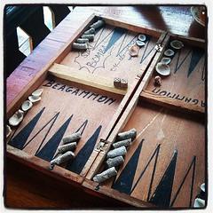 Coral vs shells - #backgammon island-style