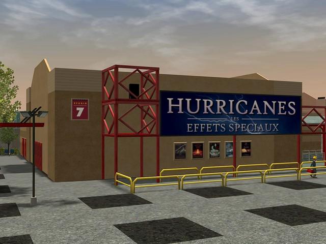 Miramar Studios Europe - Hurricanes : les Effets Spéciaux