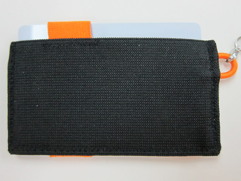 Crabby Wallet - Orange - Back View