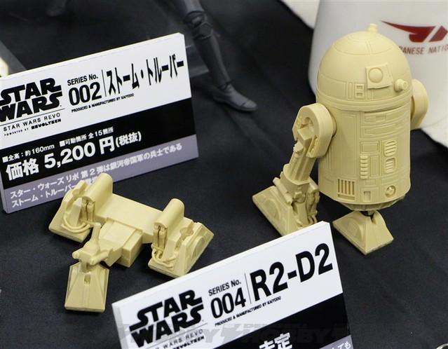 【官圖更新】星際大戰輪轉可動系列《STAR WARS:REVO》No.003 C3-PO