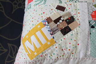 Pillow for Alisa, finished!
