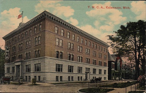 Front: Y.M.C.A., Kalamazoo, Mich