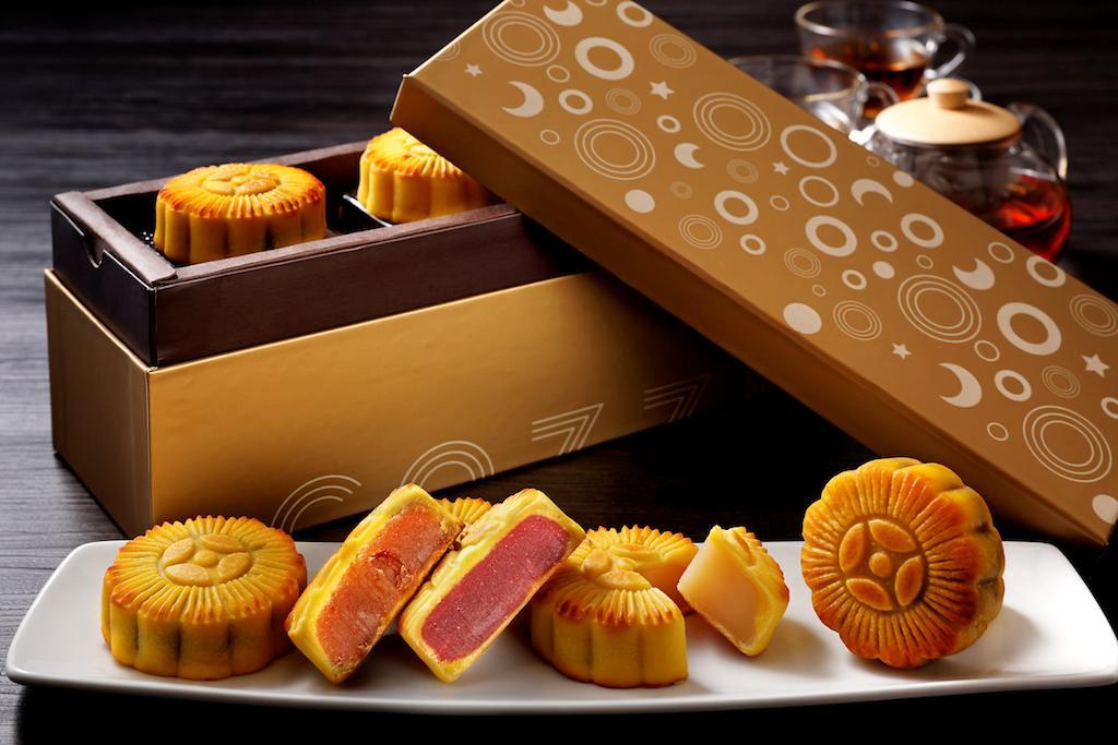 《映月日式和風月餅寶盒》
