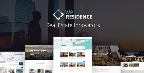 WP Residence v1.20.4 - Real Estate WordPress Theme