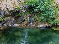 Swimming hole in the Trail of 2 Canyons, Ikaria (1)