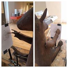 Mule Make Mule automata at Habitat exhibition 'A curious turn'. #art #Automata