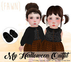 {fawn} My Halloween Outfit