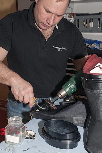 Montering av boots by Team Paulsen