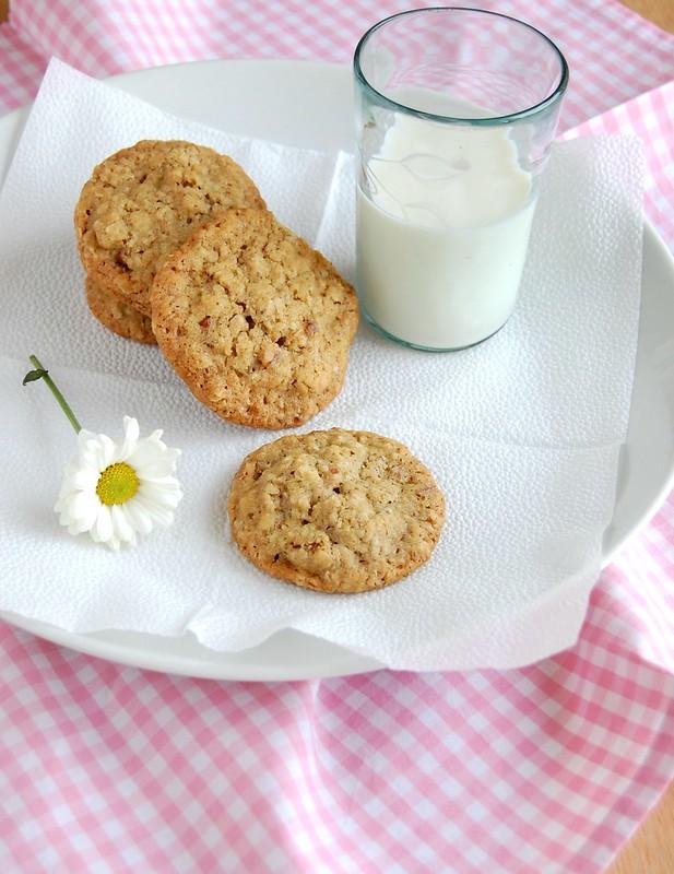 TLCs (oatmeal pecan cookies) / TLCs (cookies de aveia e pecãs)