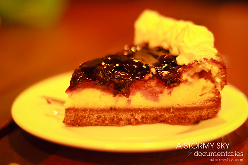 Blueberry Cheesecake Php85