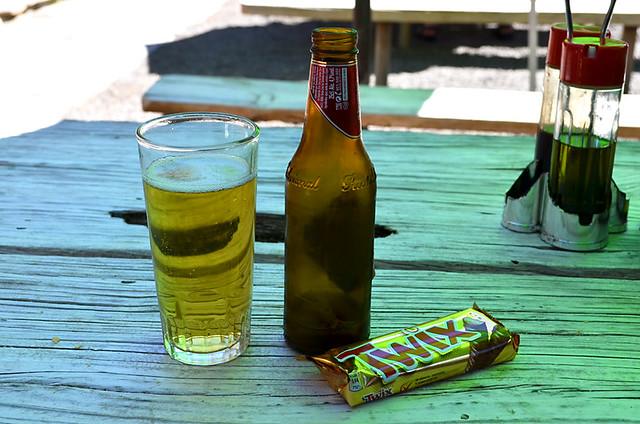 Beer and twix, La Caldera, La Orotava, Tenerife