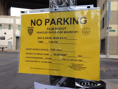 Filming in Dumbo: Ironside (April 2, 2013)