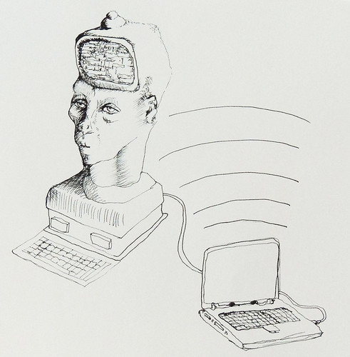 Fortune teller monitor head