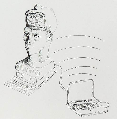 Fortune teller monitor head